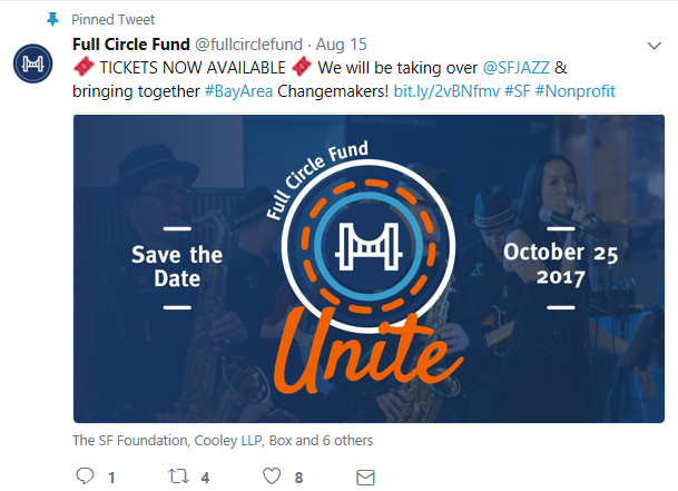 Full Circle Fund UNITE Social Media Post