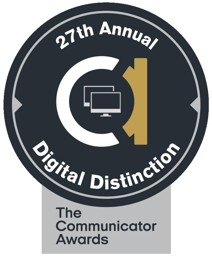 Communicator Award of Distinction