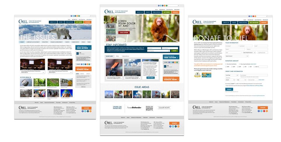 CIEL Responsive Web Design