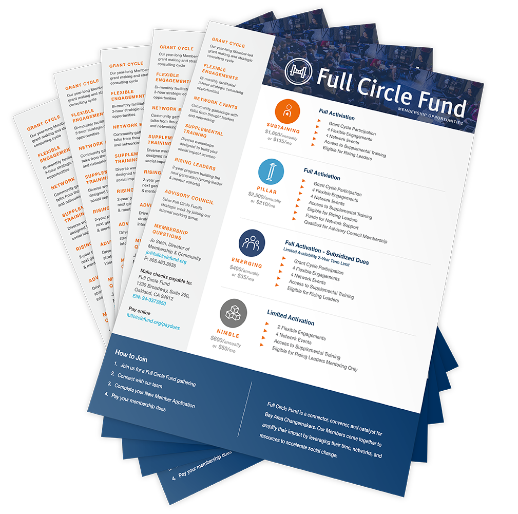 Full Circle Fund UNITE One-Sheet