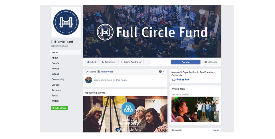 Full Circle Fund Social Media Header Sample