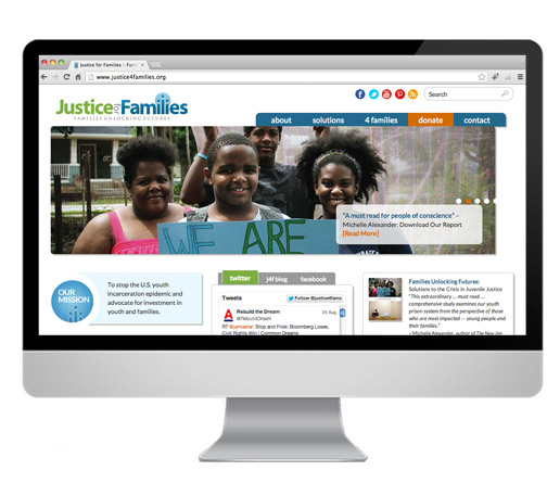 Justice For Families Website