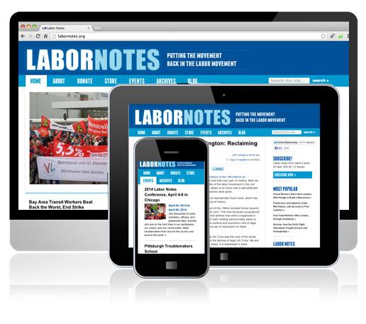 LaborNotes Website
