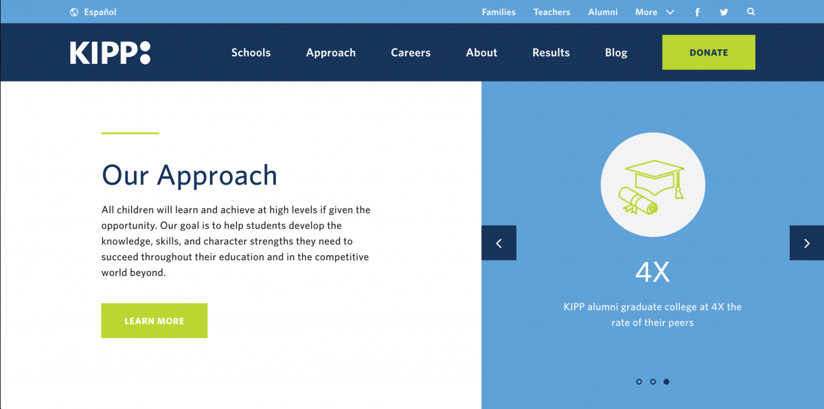 KIPP Website Sample