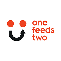One Feeds Two Logo Sample
