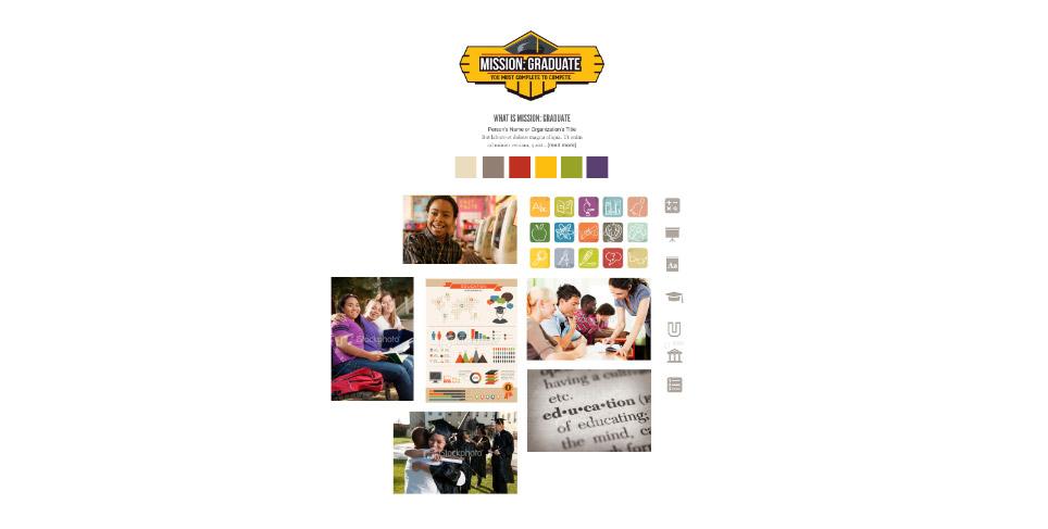 United Way's Mission: Graduate Moodboards