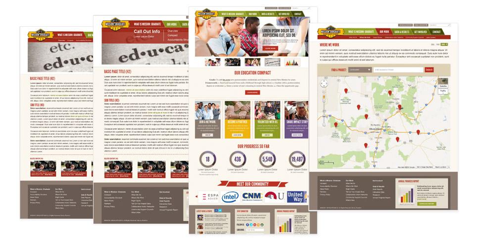 United Way's Mission: Graduate Website