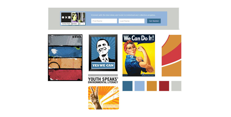 2013 Website Redesign Moodboard