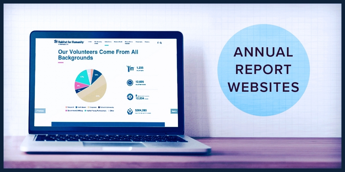 2018 Best Annual Report Websites