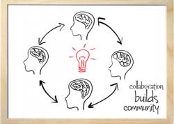 Collaboration Builds Community